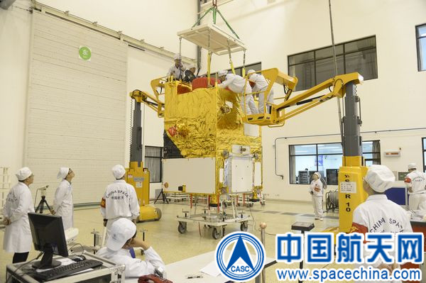 Satelita Gaofen-2 (Credits: www.spacechina.com)